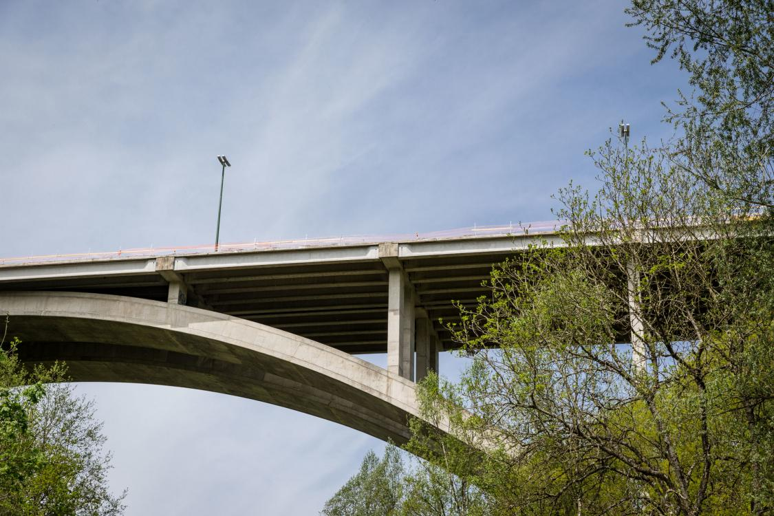 Houffalize Bridge - concrete repair, compliance with safety standards, waterproofing